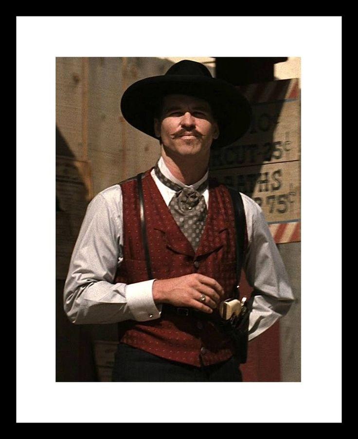 VAL KILMER 8x10 Photo Print as DOC HOLLIDAY Tombstone OK Corral WYATT EARP  | eBay