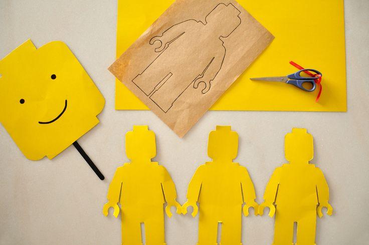 Estéfi Machado: máscara LEGO
