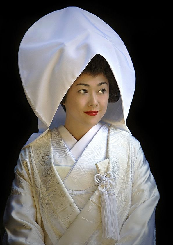 Japanese Bride ~~ Modest, sweet, and exquisitely demure...