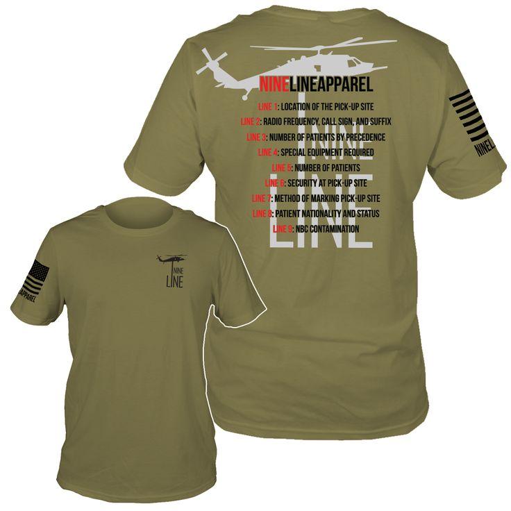 Nine line apparel mens tshirt 9 line medevac 2799