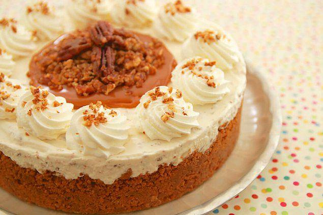 Dondurmanın mevsimi yoktur mesela bir pastaya krema bile olabilir!