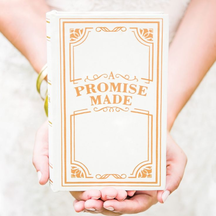 Promise Made Book Ring Box