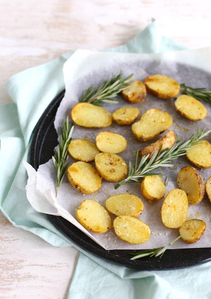 Parmezaans krieltjes uit de oven