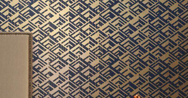 25 best ideas about papier peint art deco on pinterest. Black Bedroom Furniture Sets. Home Design Ideas