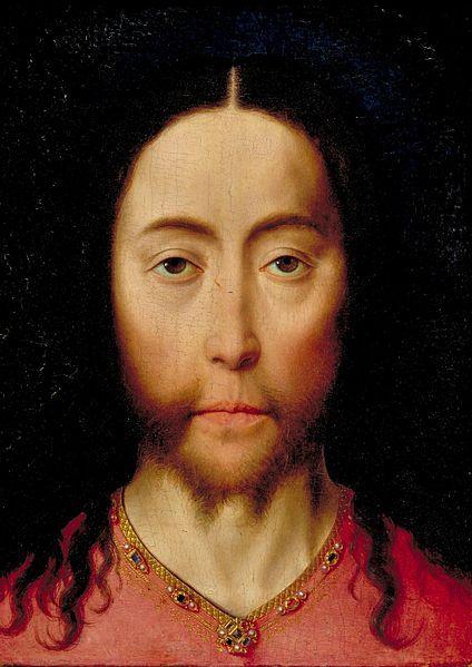 Dieric Bouts, Head of Christ, (Vera Ikon) 1464