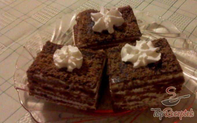 Hamis tiramisu háztartási keksszel