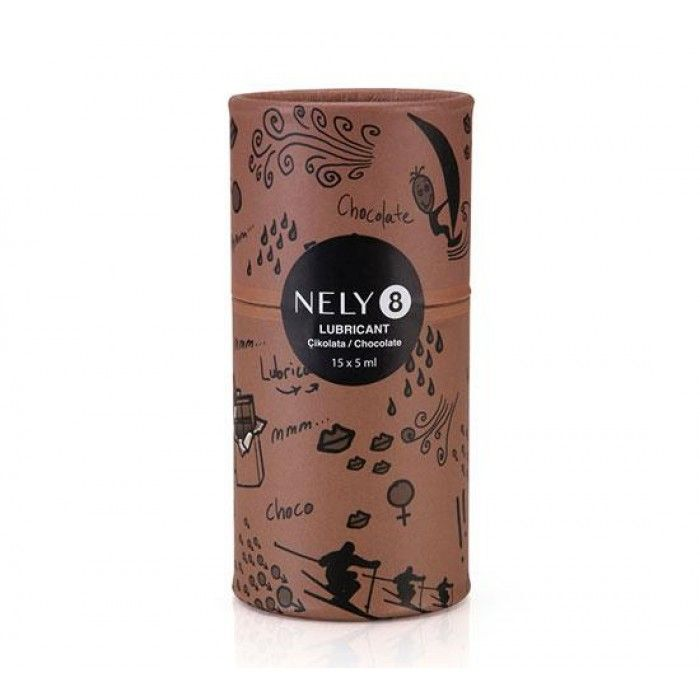 Nely8 Çikolatalı Aromalı Kayganlaştırıcı Jel