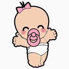 Resultado de imagen de bebes niñas dibujos