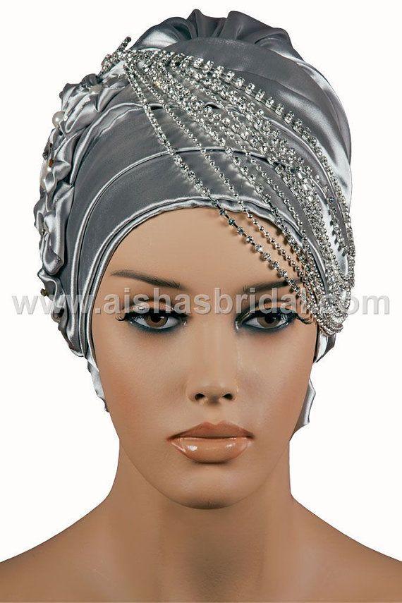 Ready To Wear Hijab Code HT0035 by HAZIRTURBAN on Etsy, $48.00