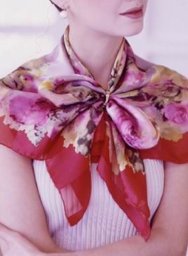 Ways to fold scarves     I. Long thin rectangular scarf folding  scarves, how to wear scarves, scarf, how to fold scarf, modern ways o...