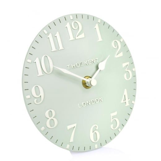 Thomas Kent Clocks Arabic Mantel Clock Duck Egg