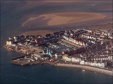 Exmouth Devon England.. The docks..