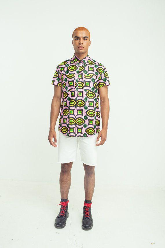 Men's Short Sleeve Shirt by bombesurprise on Etsy
