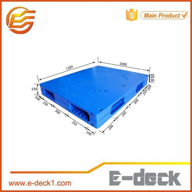 Anti-static 4 way durable Two base plastic pallet for sale