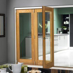 Bi Fold Interior Glass Doors