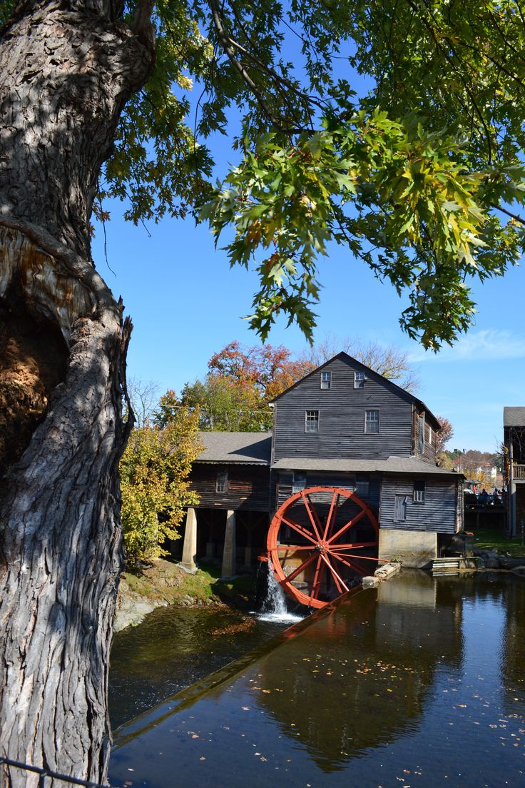 The Old Mill What A Wonderful Place To Visit In Pigeon