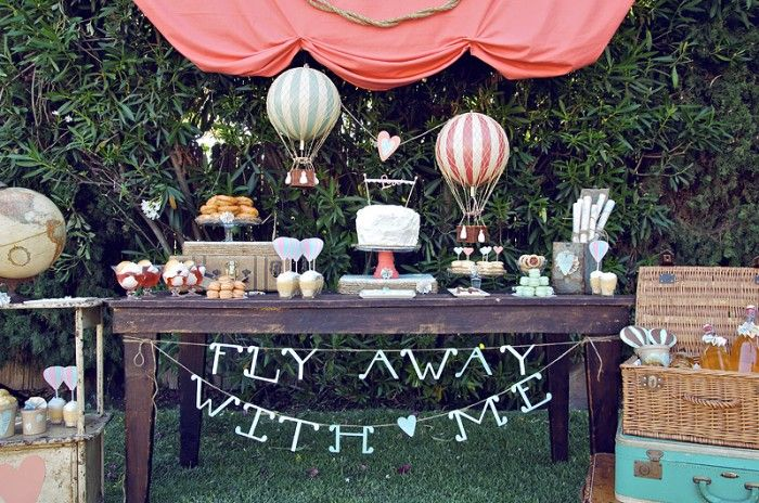 Adorable party decorations