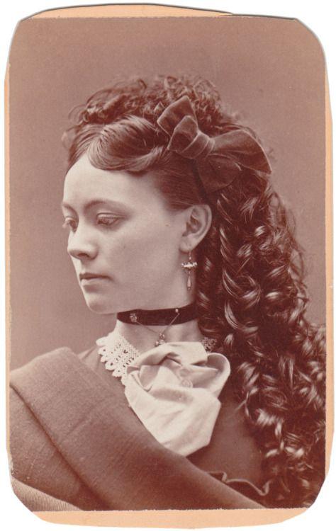 long dress hairstyles history