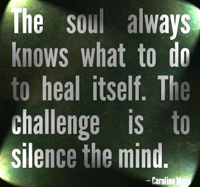 Silence The Mind For Healing