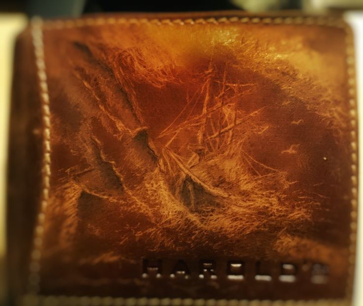 My Harold,s leather wallet