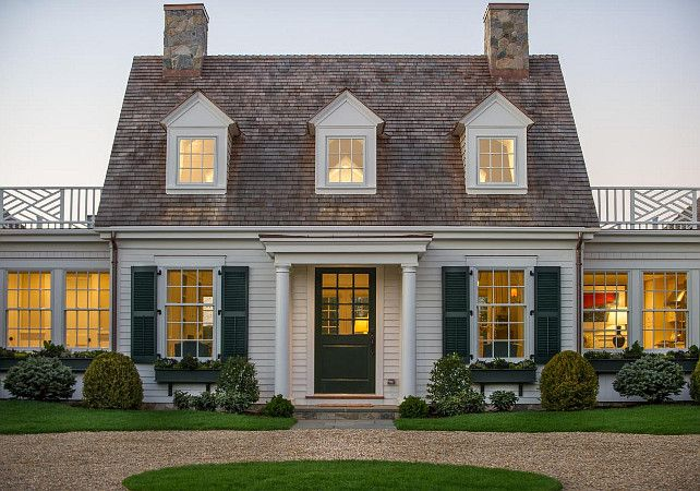 Cape Cod home Ideas. Cape Cod architecture. HGTV2015DreamHouse #CapeCod .