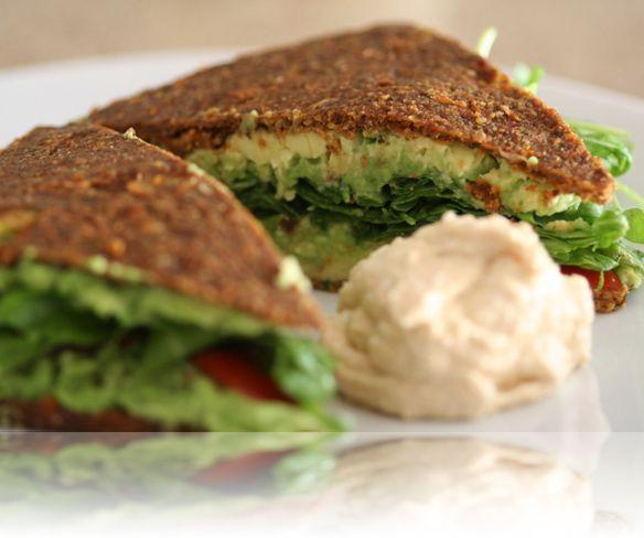 Mediterranean Almond Bread (Raw Food)