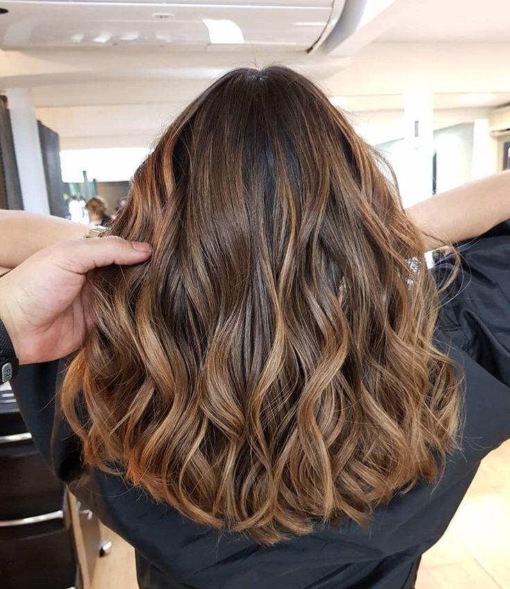 Douglas Garcia Hairstylist ✂️ sur Instagram: Morena iluminada sunset Brown…