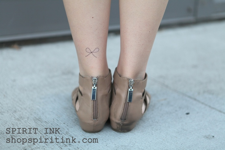 Featuring the Bow tattoo from our Versailles Collection