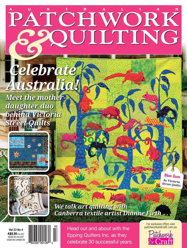 13 best Australian Patchwork & Quilting Magazine images on ... : quilting books australia - Adamdwight.com
