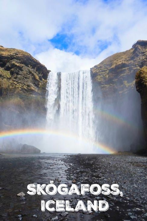 Unbelievable things to see & do in Iceland: Stunning waterfalls like Skogafoss in the south of Iceland.