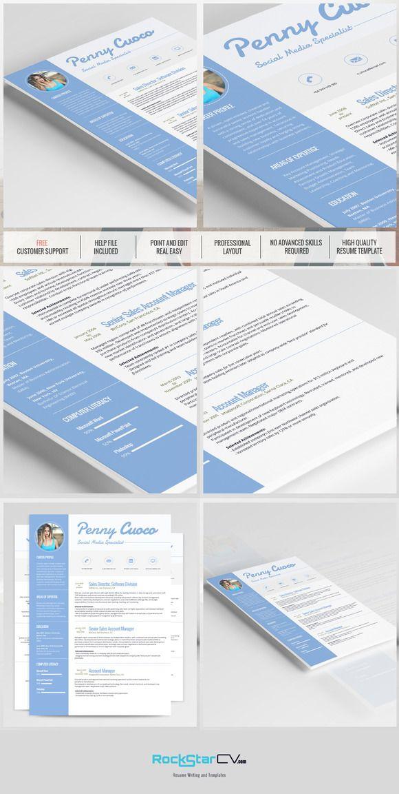Resume Template - Cassiopeia  @creativework247
