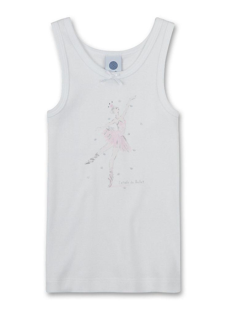 Podkoszulka dla dziewczynek, baletnica (bawełna organiczna) - Buy4Kids - sukienki dla dziewczynek, ubrania dziecięce, zabawki