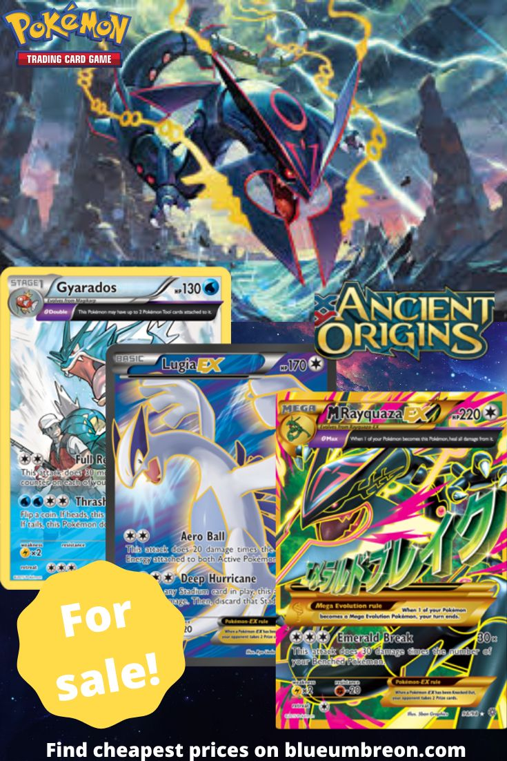 Buy all the rarest xy ancient origins pokemon cards at