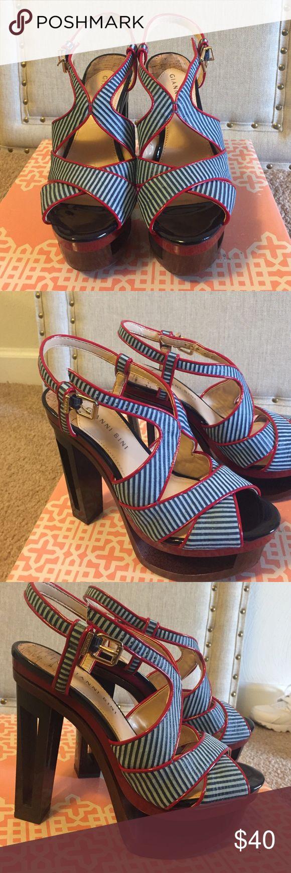 Gianni Bini platform heels! Sexy Gianni Bini platform heels! Gianni Bini Shoes Heels