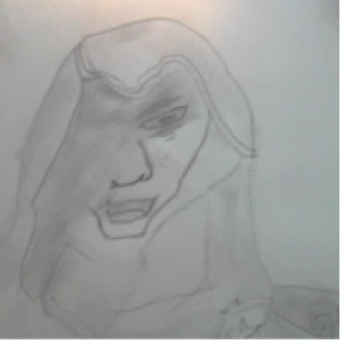 Assasians Creed Drawing Not very good thoe #LOSINGTHEDRAWINGTOUCH