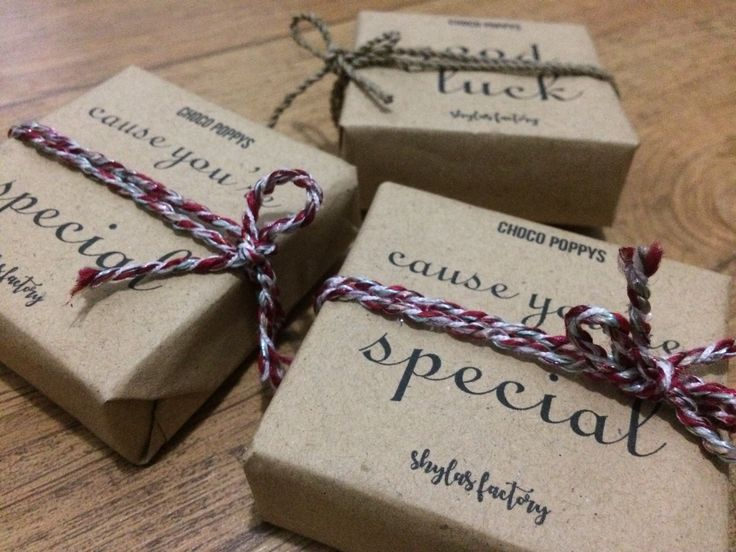 Cute packaging from Shylas Factory