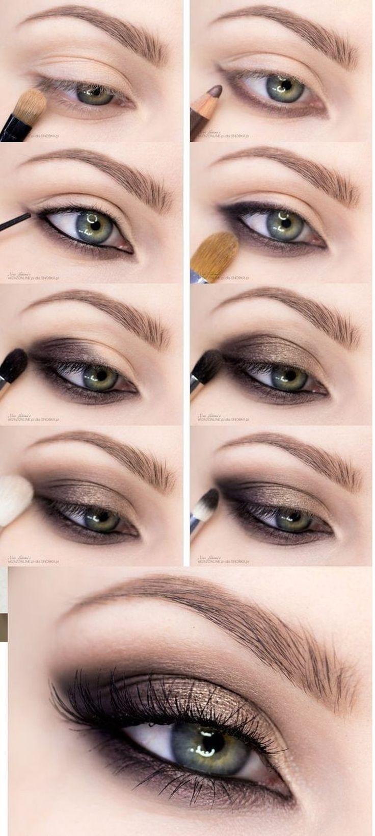 Maquiagem profissional – passo a passo – # para # maquiagem # profissional …   – Augen Make-Up