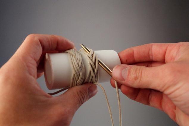 """Tisser noeud décoratif """"de la tête de la Turquie"""" (juin tête de Turc) - Maîtrise juste - FAIT A LA MAIN, fait main"""