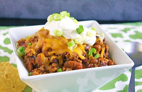Three Bean Turkey Chili | Yummy Food & snacks | Pinterest