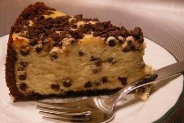 Chocolate Chip Cheesecake | I want to cook! | Pinterest