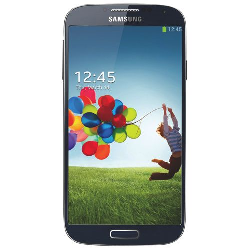"""'A Smartphone for me to keep in touch with my sons in University.""""  #SetMeUpBBY  Fido Samsung Galaxy S4 Smartphone - Black - 2 Year Agreement.    """""""