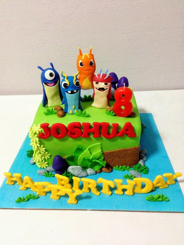 slugterra cake - Buscar con Google