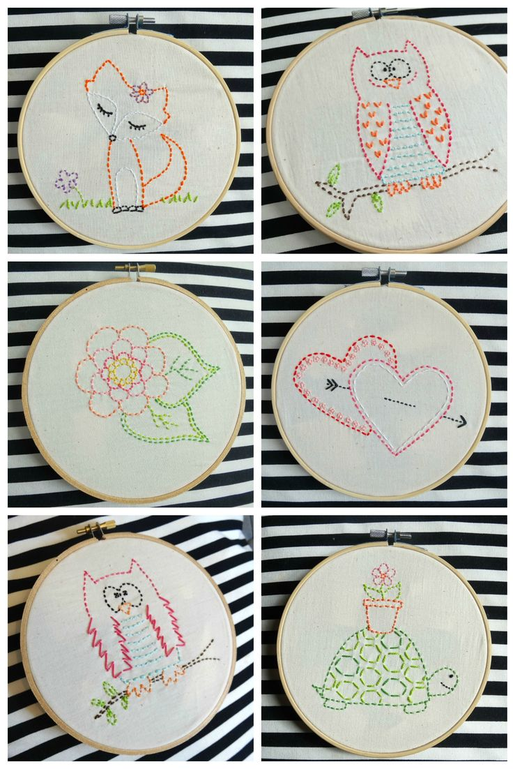 Embroidery for Kids kits