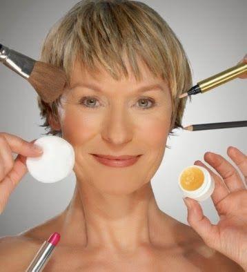 Aisha mas que un -arte: Maquillaje para pieles maduras