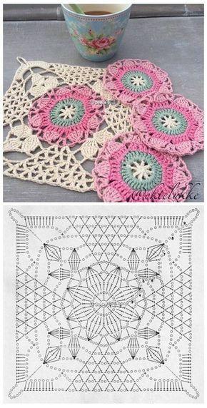 Crochet Knitted Motif Schemes