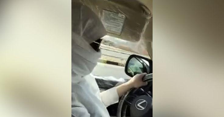 Saudi police probe viral video of woman driving