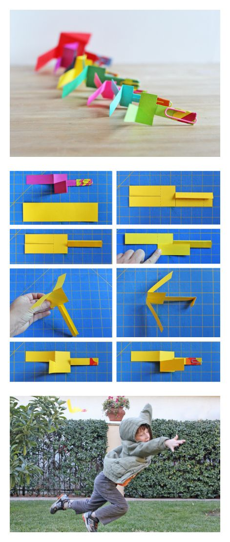 Learn how to make a fun DIY toy: Paper Helicopters, with this step-by-step tutorial.