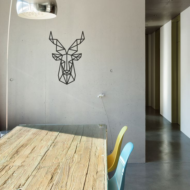 Geometric Wall, Wall Decals. My Deer Muursticker