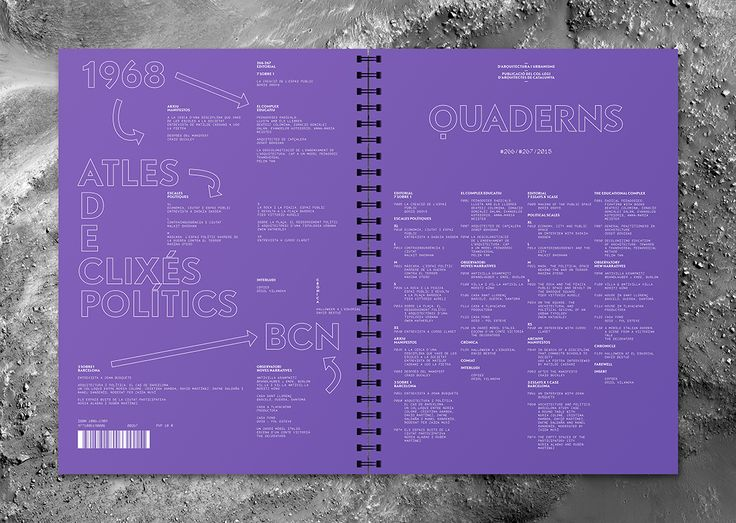 Quaderns #266 on Behance