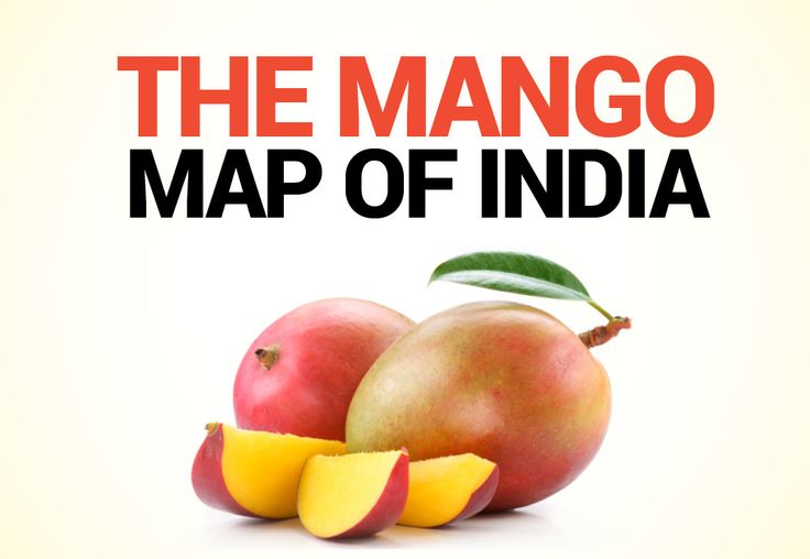 India's #mango map-abodes of the king of #fruits. Read the story at
